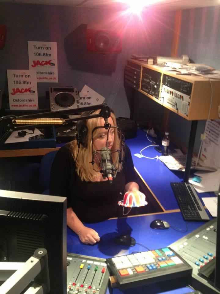 In the Jack FM studio