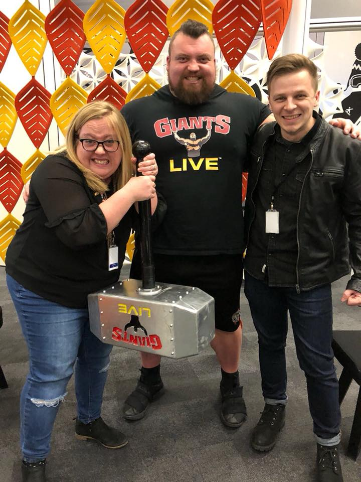 Giants Live Event with Radio Aire